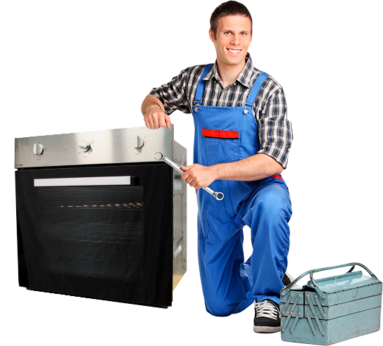 Electric oven repair man